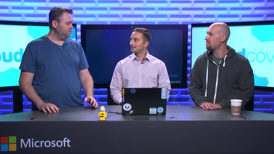 Episode 233: Azure Event Grid with Bahram Banisadr
