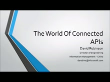 The World of Connected APIs