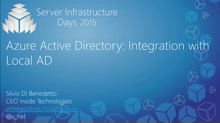 Azure Active Directory: Integration with Local AD - MA01