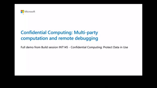 Azure Confidential Computing – protect data in use