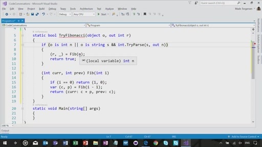 C# 7 Features with Mads Torgersen
