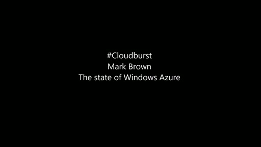 The State of Windows Azure