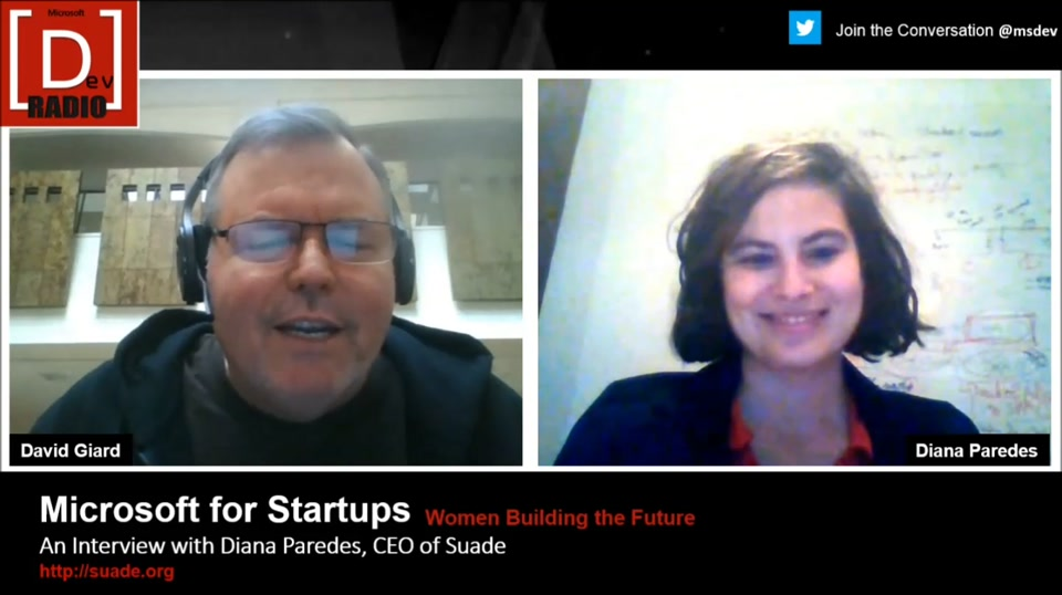 Startup Stories: (Part 3) Women Building the Future - An Interview with Diana Paredes, CEO of Suade