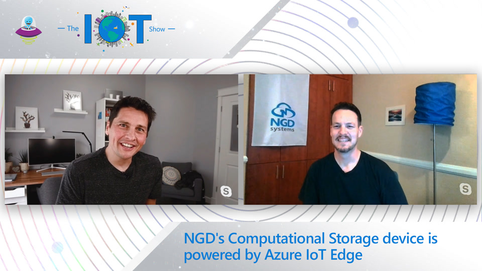 NGD's Computational Storage device is powered by Azure IoT Edge