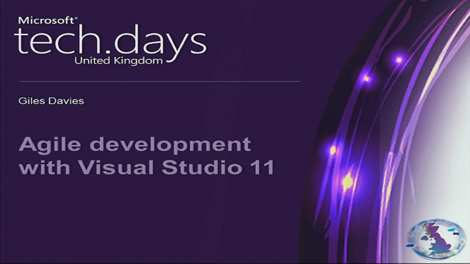 Agile development with Visual Studio 2011