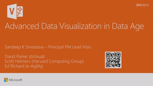 Dive deep into advanced Data Visualization with Microsoft Visio