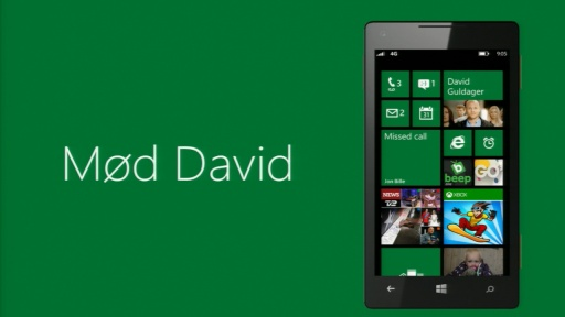 Windows Phone keynote med David Guldager
