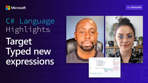 C# Language Highlights: Target Typed new expressions