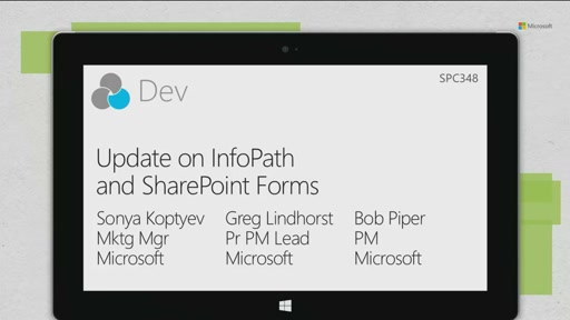 Update on InfoPath and SharePoint Forms