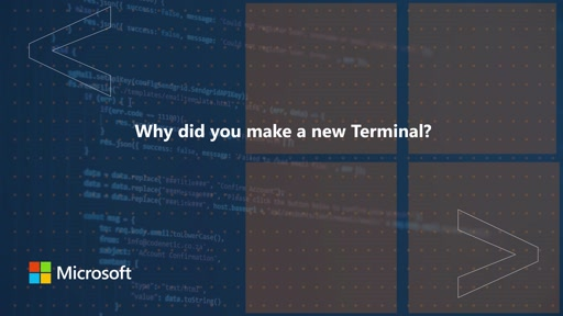 Why did you make a new Terminal | One Dev Question