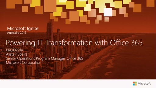 Powering IT Transformation with Office 365
