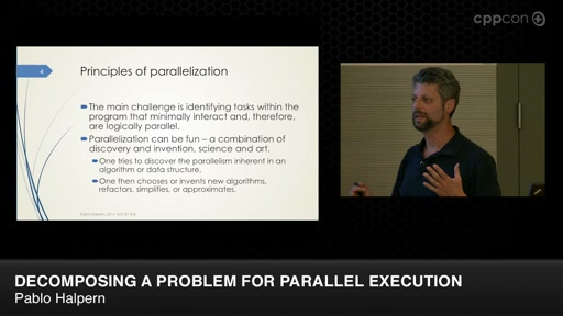 Decomposing a Problem for Parallel Execution