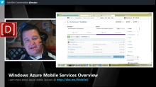 Microsoft DevRadio: Windows Azure Mobile Services 101