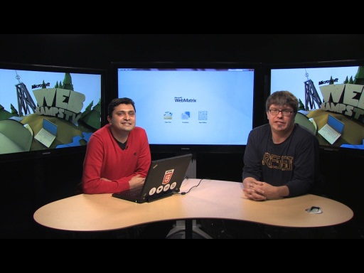 Web Camps TV #12 - Vishal Joshi Talks about WebMatrix v2
