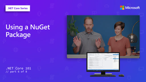 .NET - Using a NuGet Package [6 of 8]