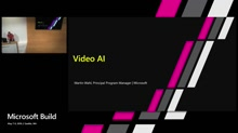 Masterclass on extracting insights from your video using AI technologies