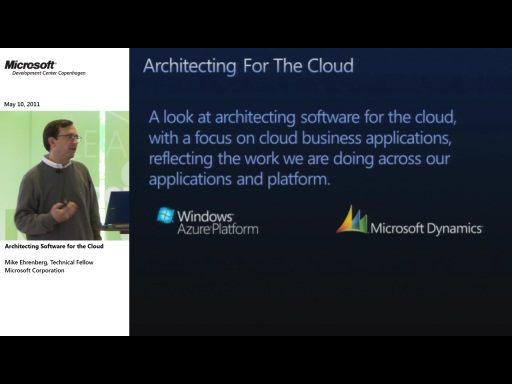CloudTalk: Architecting Software for the Cloud