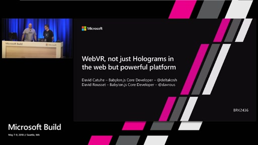 WebVR, not just Holograms in the web but powerful platform