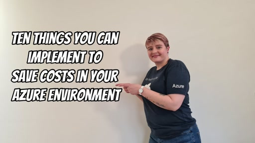 Ten things you can implement to save costs in your Azure environment
