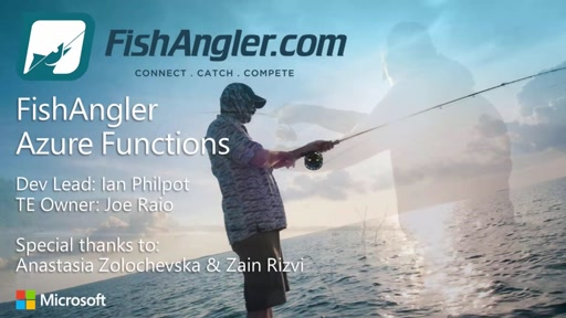 FishAngler Azure Functions