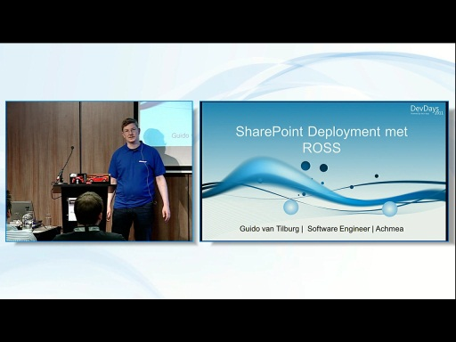 SharePoint Deployment Automation met ROSS en R-1