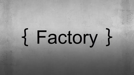 Patron de conception - Factory - Bracket Show - Episode 4