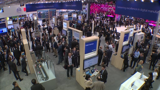 B-roll: Hannover Messe 2017
