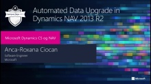 Automated data upgrade in Dynamics NAV 2013 R2