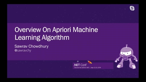 Overview On Apriori Machine Learning Algorithm