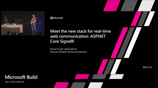 Meet the new stack for real-time web communication: ASP.NET Core SignalR