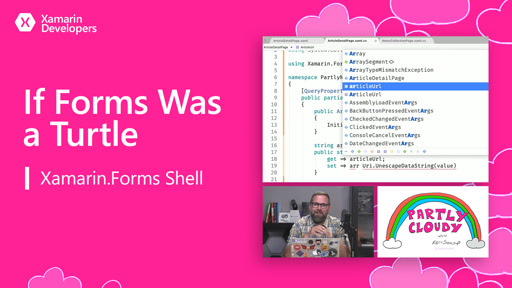 If Forms Was a Turtle (Xamarin.Forms Shell)