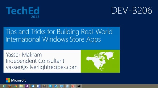 Tips and Tricks for Building Real-World International Windows Store Apps