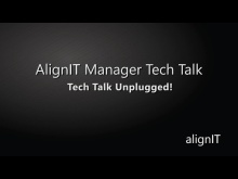 AlignIT Manager Tech Talk: Tech Talk Unplugged