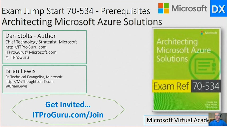 Part 1 Exam Jump Start 70 534 Prerequisites Architecting Microsoft
