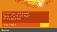 Publishing containerized micro services with Azure API management