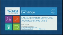 Microsoft Exchange Server 2013 Architecture Deep Dive, Part 2