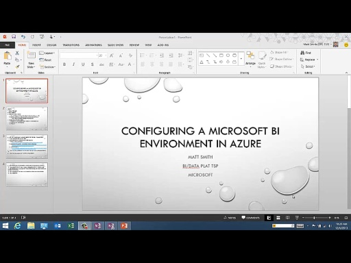 SQLShorts: Installing and Configuring PowerPivot, Power View, and the BI Semantic Model in Azure ( IAAS ) [@smithmattc]