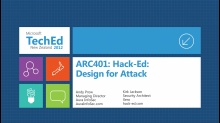 Hack-Ed: Design for Attack
