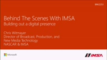 Go behind the race to see how IMSA uses Azure to revolutionize their digital presence