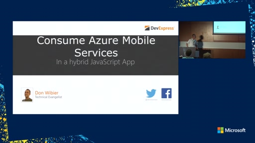 Consuming Azure Mobile Services in a JavaScript Hybrid App