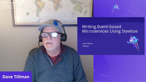 Writing Event Based Microservices using Steeltoe