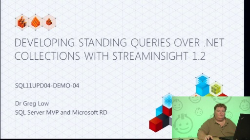 Demo: Developing Standing Queries over Observable .NET Classes with StreamInsight 1.2