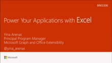 Power your applications with Excel Workbooks as a Service