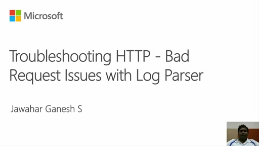 Troubleshooting IIS and ASP.NET Issues with Log Parser - HTTP Bad Request