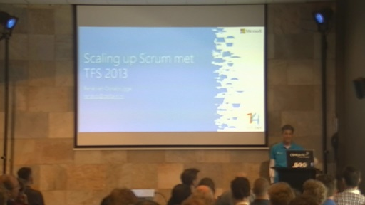Scaling up Scrum met TFS 2013