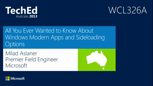 All You Ever Wanted to Know About Windows Modern Apps and Sideloading Options