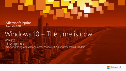 Windows 10 - The time is now