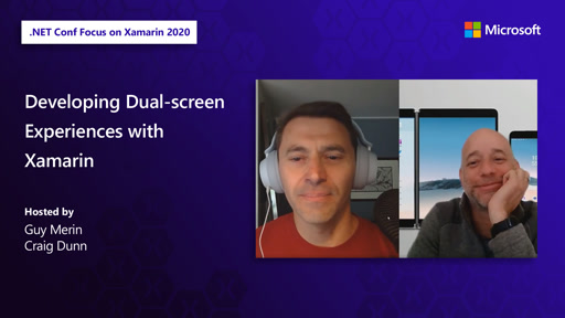 Developing Dual-screen Experiences with Xamarin