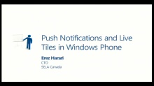WIN380 - Push Notifications and Live Tiles in Windows Phone