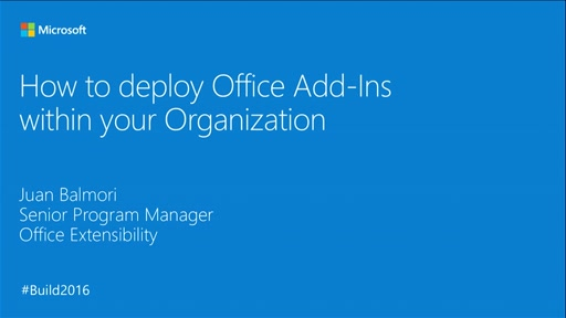 How to Deploy Office Add-ins within Your Organization